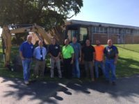 Cleveland Brothers Donate Excavator to LCCTC for 18-19